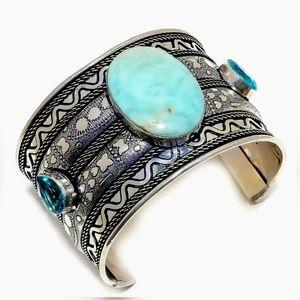 Beautiful Artisan cuff bracelet